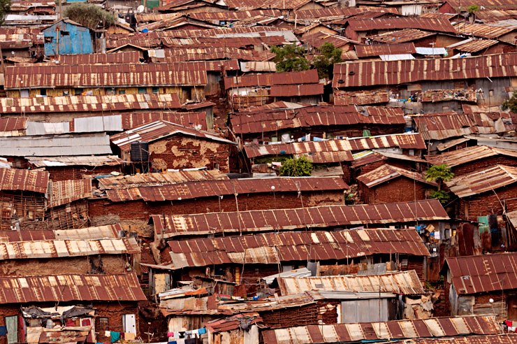 Kibera, Nairobi illustrates the challenge of informality