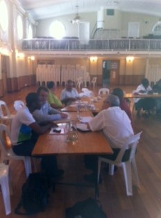 Participants review conflict risk in the Langeberg Municipality