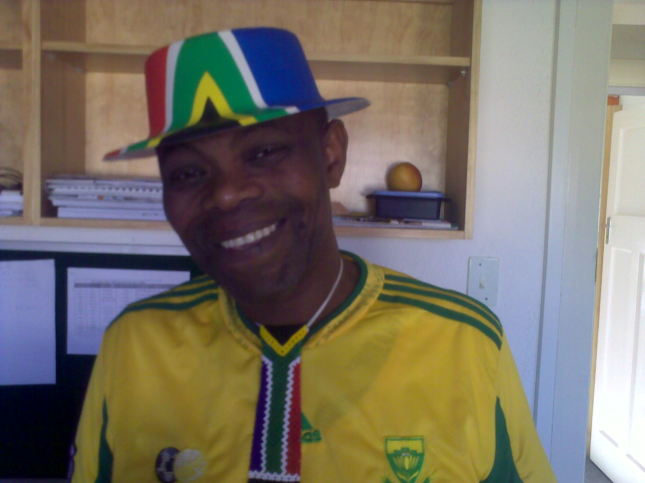 Boyce Williams - Phuhlisani best dressed supporter
